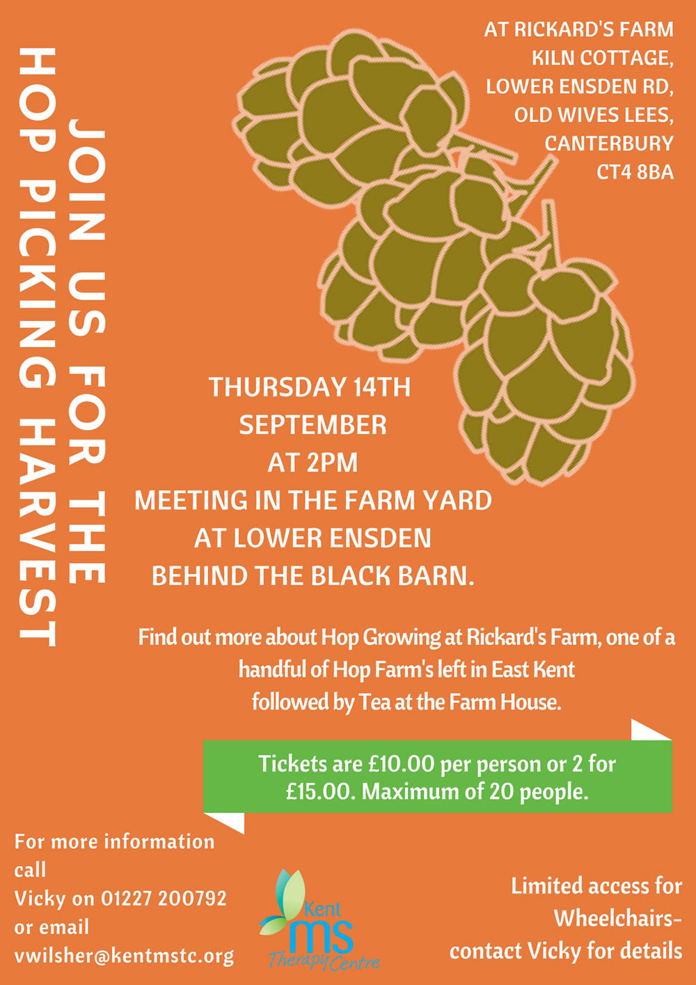 Hop Picking Harvest poster