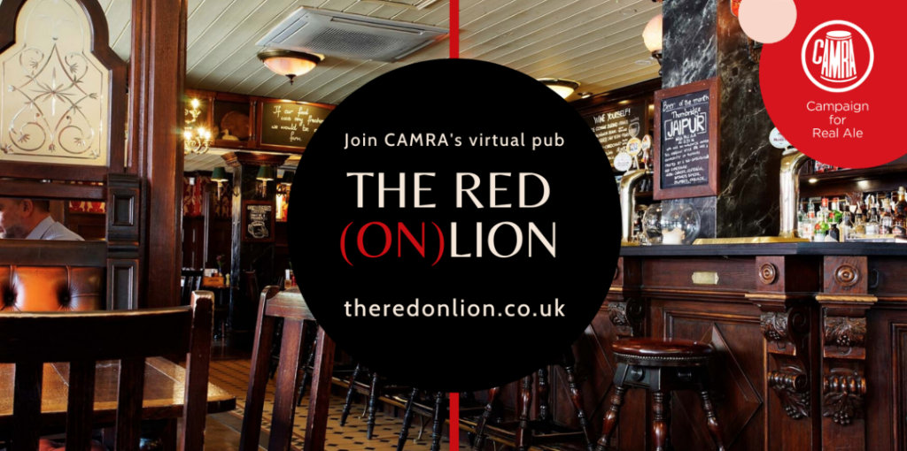 Visit the Red (on)Lion virtual pub
