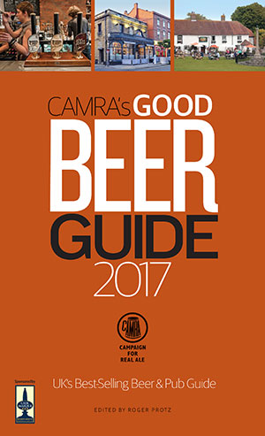Good Beer Guide 2017 front cover