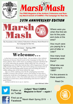 Marsh Mash Spring 2019 front cover